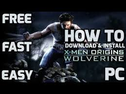 download install men origins wolverine game free