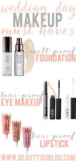 bridal makeup products wedding day makeup must haves beauty 101