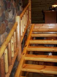 the armstrong creek company log stairways