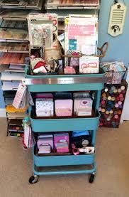 21 ways to use your raskog cart to organize your scrapbook supplies