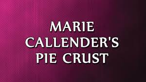 marie calendars thanksgiving marie callender u0027s pie crust recipes easy to learn youtube