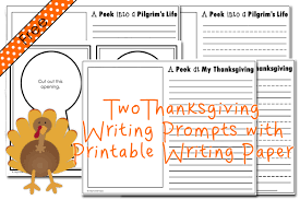 thanksgiving writing prompts primary theme park