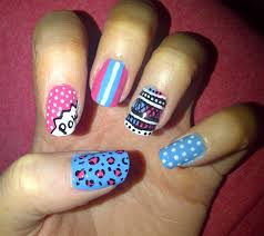 pink and black nail designs trend manicure ideas 2017 in pictures