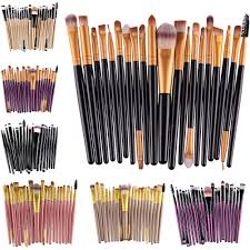 20pcs makeup brushes set powder foundation eyeshadow eye lip
