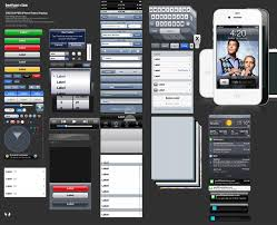 this ios 5 photoshop template makes it easy to mockup retina
