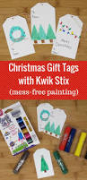 diy christmas tags with kwik stix all things target