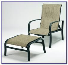 Patio Chair With Ottoman Patio Chair With Hidden Ottoman Patios Home Decorating Ideas