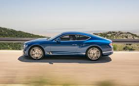 bentley coupe blue bentley goes hybrid with new 2018 continental gt details