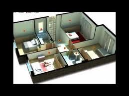 House Design With Floor Plan 3d 12 Examples Of Minimalist 3 Bedroom House Floor Plan 3d Youtube