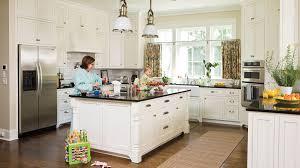 southern living kitchens ideas white kitchen ideas to inspire you freshome blue counter1