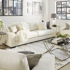Best Sofa Filling Furniture Of America Ferisen Contemporary Linen Like Sofa Free