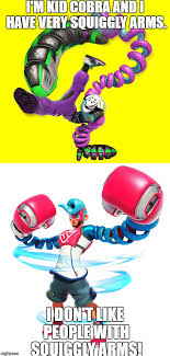 Squiggly Arm Meme - kid cobra with squiggly arms by funnytime77 on deviantart