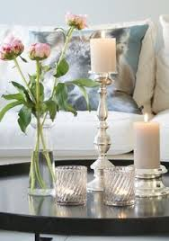 Coffee Table Decorations 20 Chic Ways To Freshen Up Your Coffee Table Glass Candle And