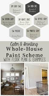 farmhouse paint colors interior home decor color trends photo with