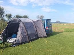 Campervan Awning Vango Airbeam Campervan Awning Tent Scotland Outdoors Magazine