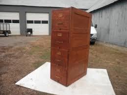 Antique Wood File Cabinet Antique Wood File Cabinet Antique Shaw Walker 1910 Oak 4 Drw File