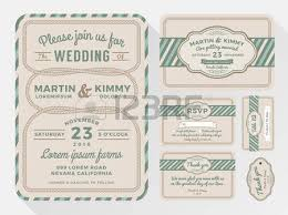 Wedding Invitation Sets Vintage Wedding Invitation Chalkboard Design Sets Include