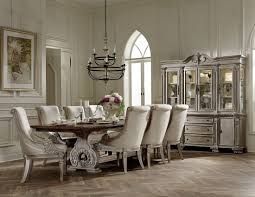Cherry Wood Dining Room Furniture Orleans Ii White Wash Extendable Trestle Dining Room Set From
