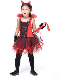 toddler halloween clothes online cheap kids little devil costumes children halloween red