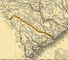 road map of south carolina south carolina canal and railroad company