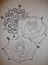 rose henna tattoo by xxxparabolaxxx deviantart com on deviantart