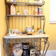 Decorating A Bakers Rack Ideas Home Decor Appealing Baker Racks With Best 25 Bakers Rack