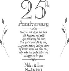 25 wedding anniversary what is the 25th wedding anniversary gift ideas bethmaru