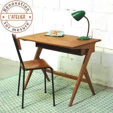 chaise d colier bureau pieds compas et chaise d écolier