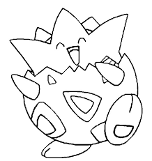 pokemon coloring pages togepi coloring pages pokemon togepi drawings pokemon