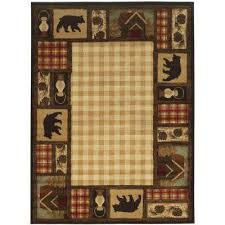 Synthetic Area Rugs Beige 4 X 6 Synthetic Area Rugs Rugs The Home Depot