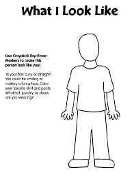 human body free coloring pages crayola