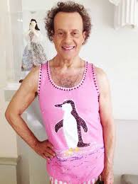 richard simmons fights off paparazzi with the l a fuzz jetss