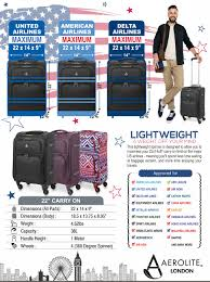 american airlines luggage size aerolite 22x14x9 carry on max lightweight upright travel trolley