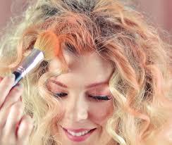 diy temporary hair color using eye shadow love maegan