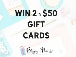 win gift cards online blogging mode giveaway win 2 x 50 vouchers at online gift shop