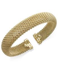 bracelet silver bangles images Italian gold mesh bangle bracelet in 14k gold over sterling silver tif