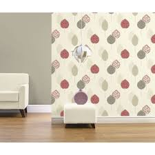 Living Room Art House Arthouse Dante Textured Motif Red Wallpaper Home Pinterest