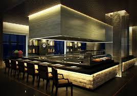 restaurants open kitchen design