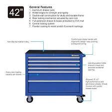 Tool Cabinet On Wheels by Westward 42