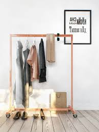 Decorative Metal Garment Floor Rack by Wardrobe Racks Inspiring Intermetro Garment Rack Interesting
