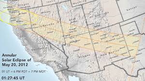 Map Of Cedar City Utah by Annular Solar Eclipse Of May 20 2012 Youtube