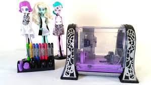 monster maker printer review part 2 monster high youtube