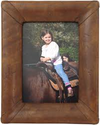 leather picture frames serrano handmade leather picture frame