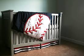 Sports Themed Crib Bedding Best Design Baseball Crib Bedding Home Inspirations Design