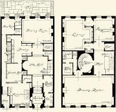 Townhouse House Plans Anne Morgan Townhouse
