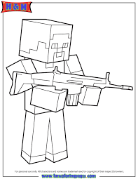 lovely coloring pages of minecraft 17 with additional free