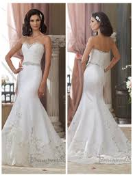 wedding dress with beading beaded lace appliques mermaid wedding dresses with
