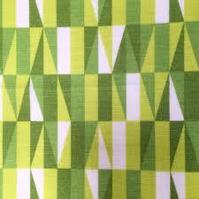 Modern Retro Upholstery Fabric Geometric Vintage Fabric Green Retro Upholstery Fabric Mid Century