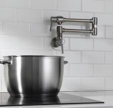 Kitchen Pot Filler Faucet Pot Filler I Had One Of These In The House My Husband And I