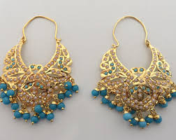 punjabi jhumka earrings punjabi jhumka etsy